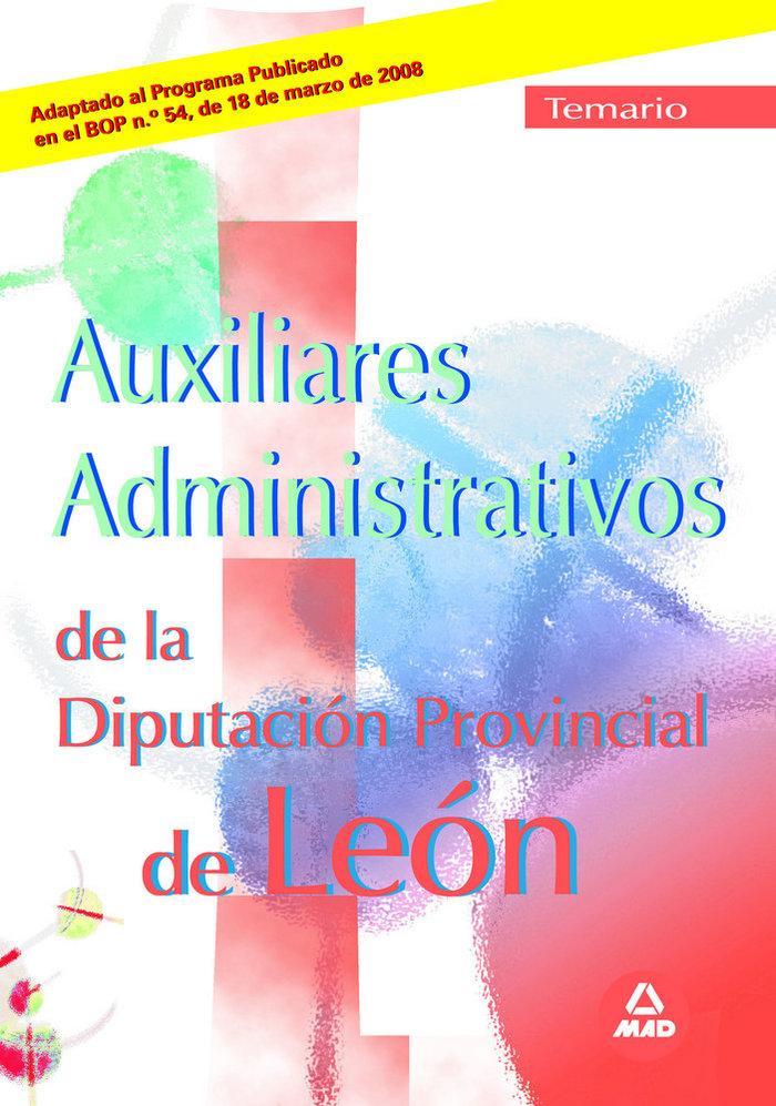 Auxiliares administrativos, diputacion provincial de leon. t