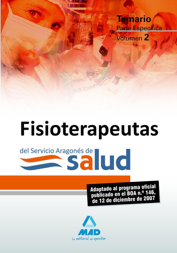 Fisioterapeutas del servicio aragonÉs de salud. temario part