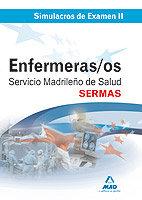 Enfermeros del servicio madrileño de salud (sermas). simulac