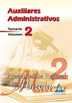 Auxiliares administrativos de la administracion regional de