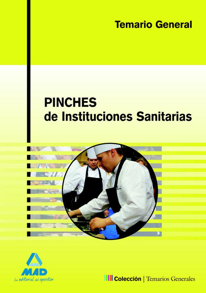 Pinches instituciones sanitarias temario general 2008