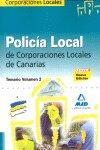 Polic¡a local de canarias. temario general. volumen ii