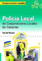 Policia local, canarias. test del temario general