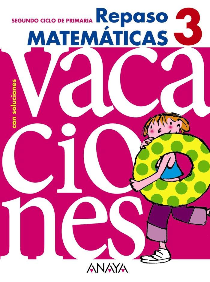 Cuaderno vacaciones 3ºep 10 matematicas