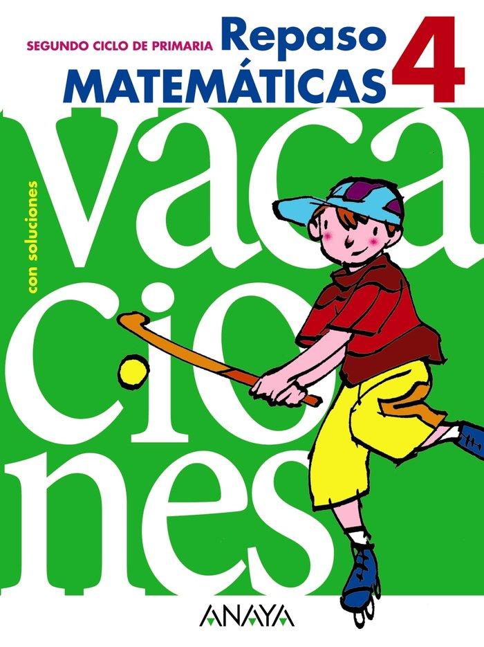 Cuaderno vacaciones 4ºep 10 matematicas