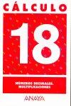 Cuaderno calculo 18 ep numeros decimales multiplicaciones