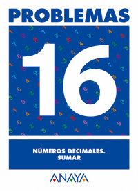 Cuaderno problemas 16 ep numeros decimales sumar