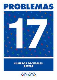 Cuaderno problemas 17 ep numeros decimales restar