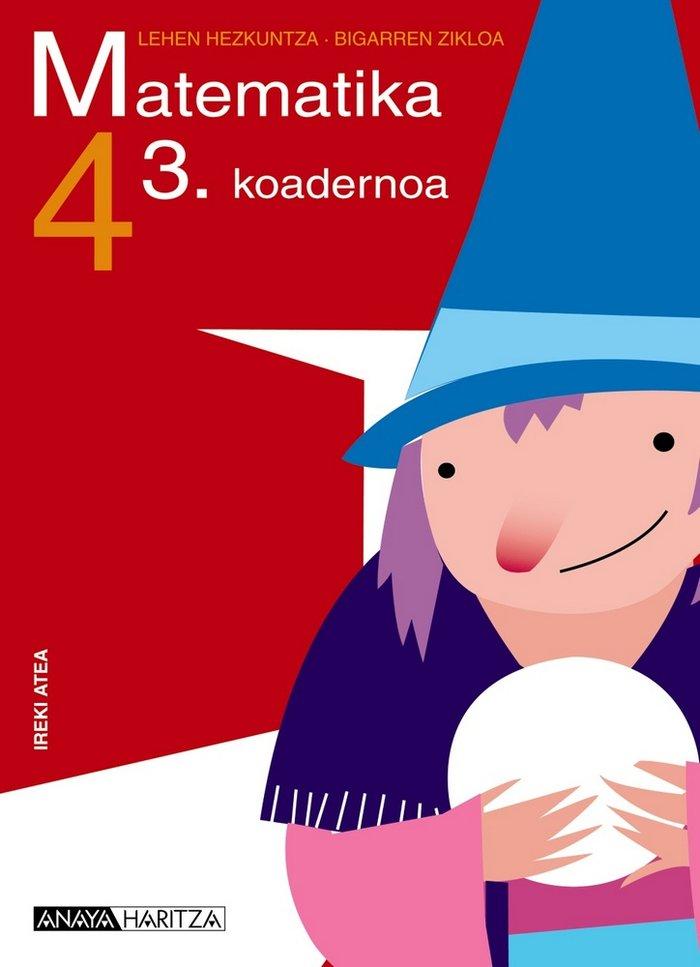 Matematika 4. 3 koadernoa