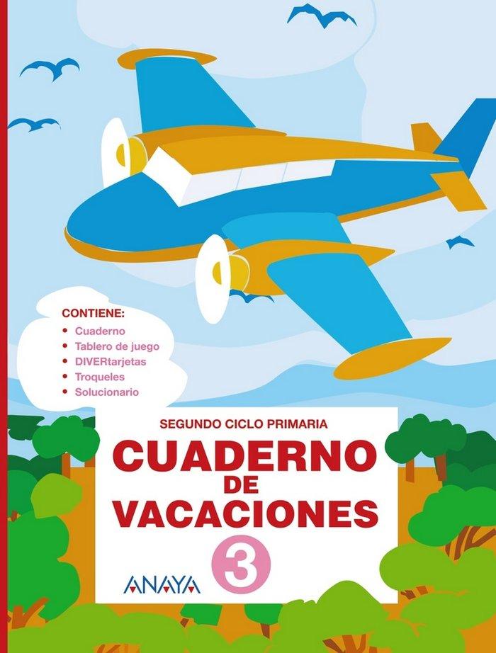 Cuaderno de vacaciones 3ºep anaya 2010