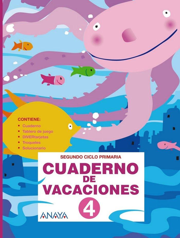 Cuaderno de vacaciones 4ºep anaya 2010