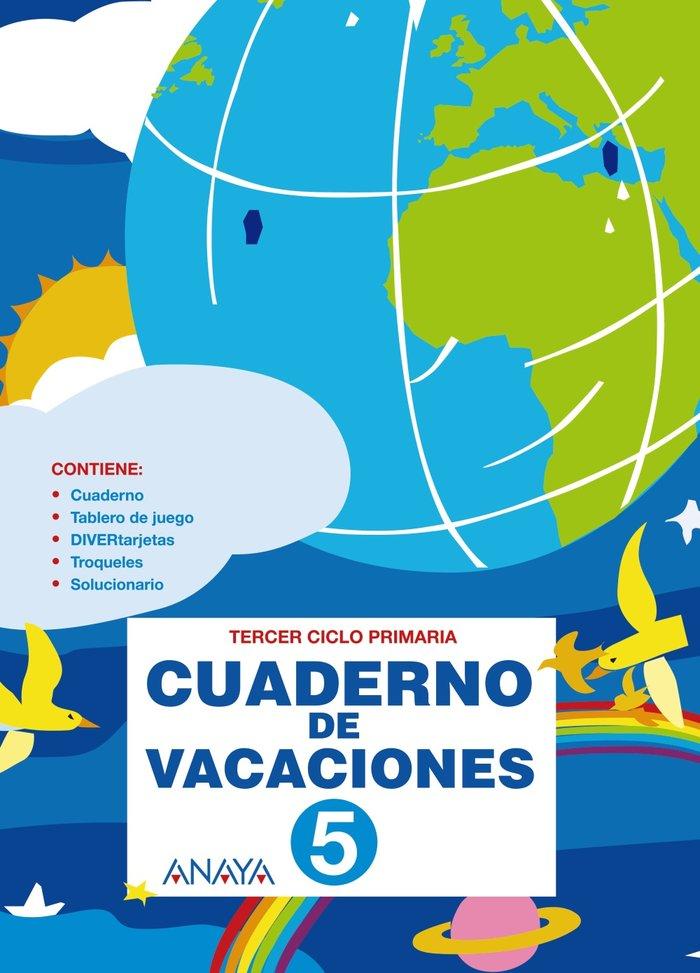 Cuaderno de vacaciones 5ºep anaya 2010