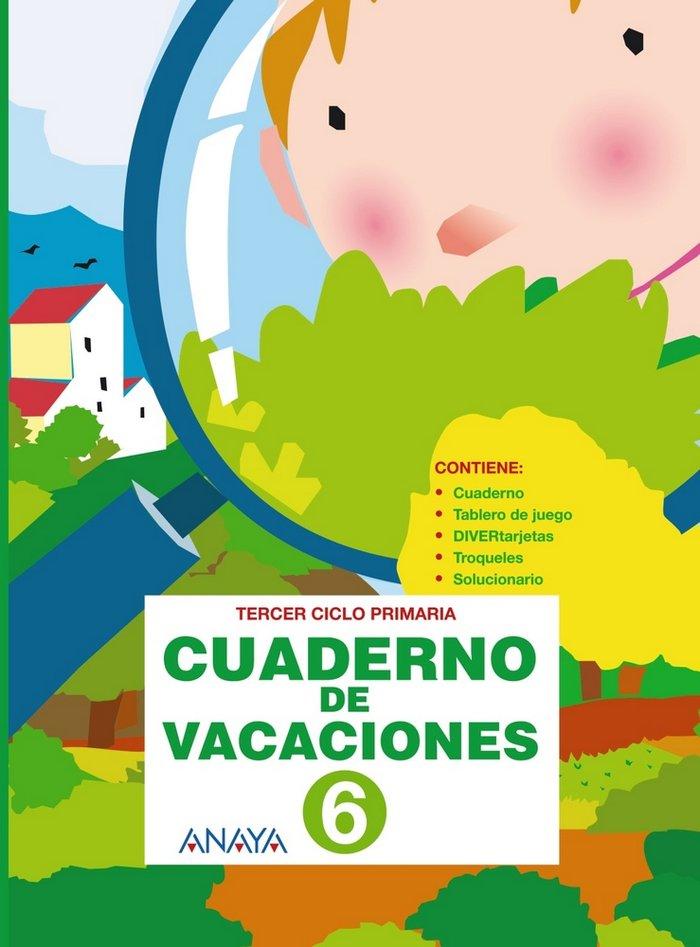 Cuaderno de vacaciones 6ºep anaya 2010