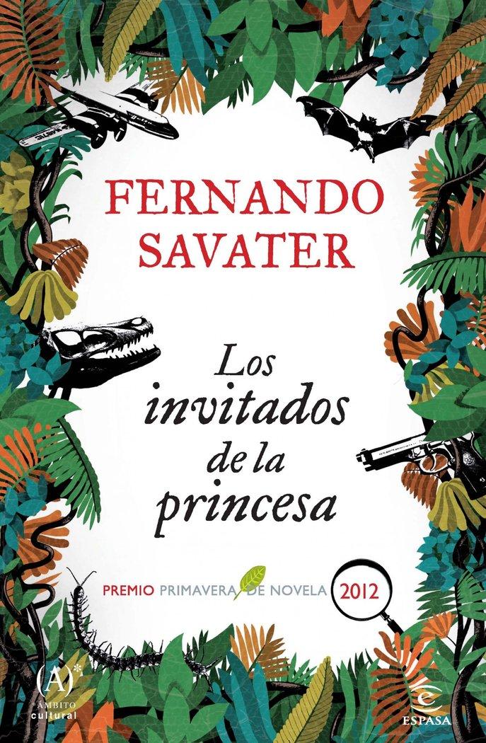 Invitados de la princesa,los p.primavera novela 2012
