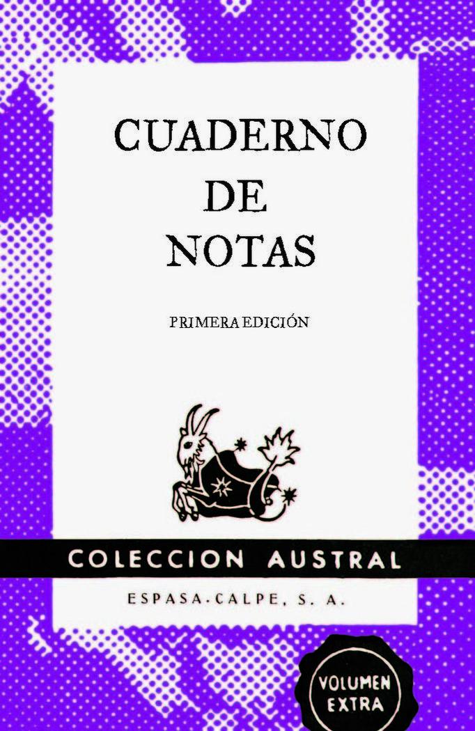 Cuaderno de notas violeta 11,2x17,4