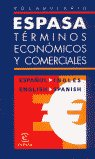 Vocabulario espasa terminos economicos español-ingles