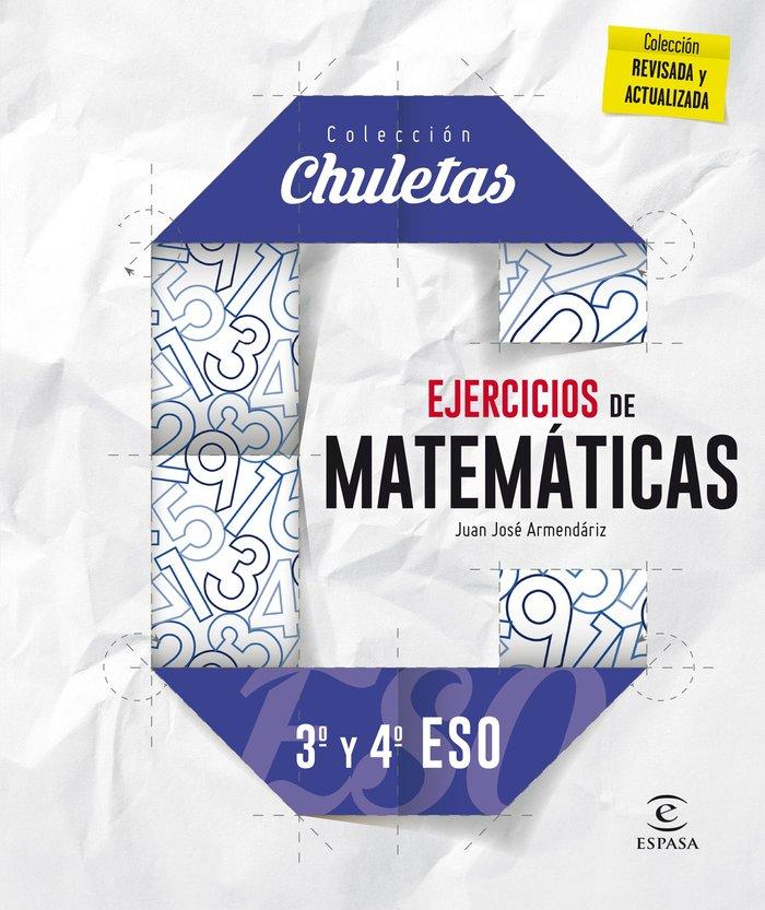 Ejercicios de matematicas 3º y 4º eso