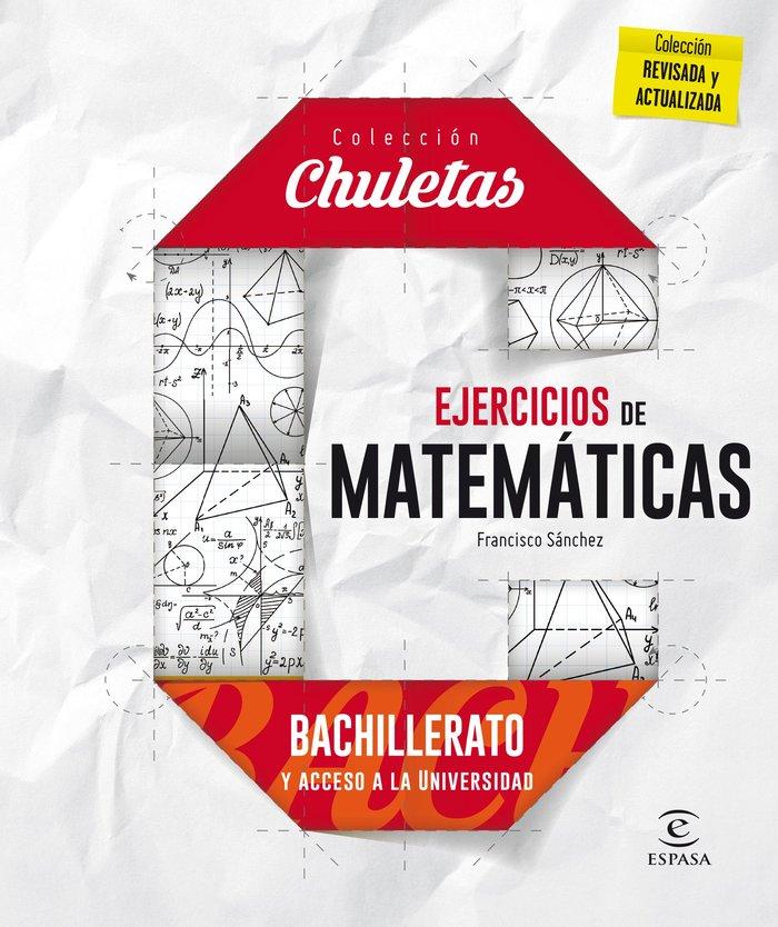Ejercicios de matematicas para bachillerato