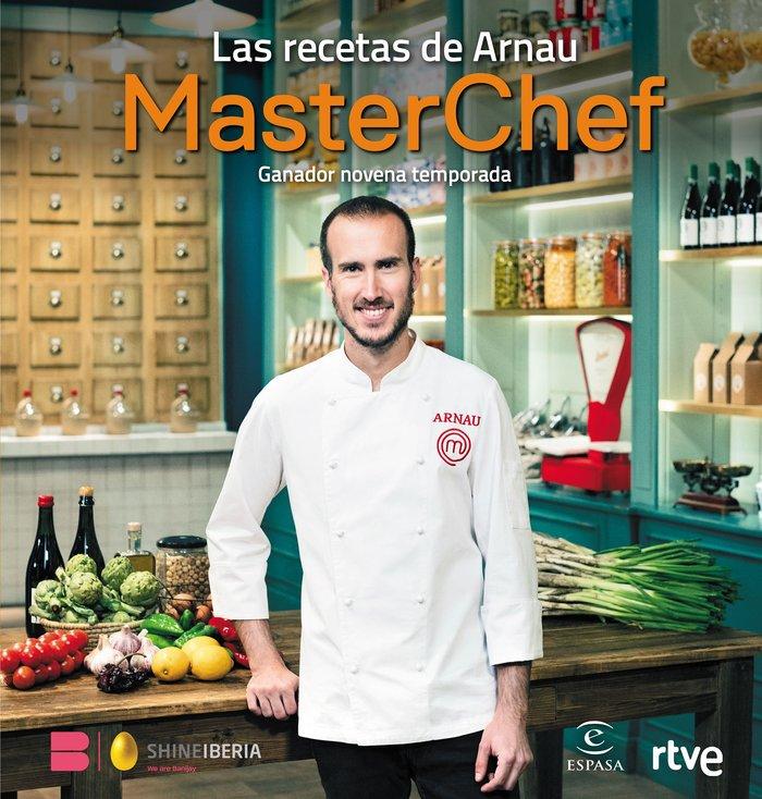 Las recetas de arnau ganador masterchef novena temporada
