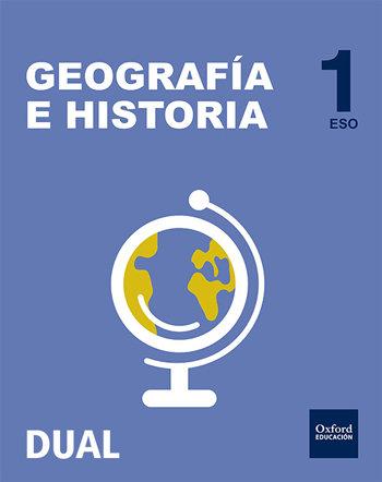 Geografia e historia 1ºeso inicia dual libro del a