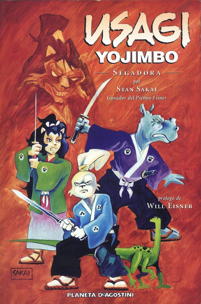 Usagi yojimbo 05 segadora