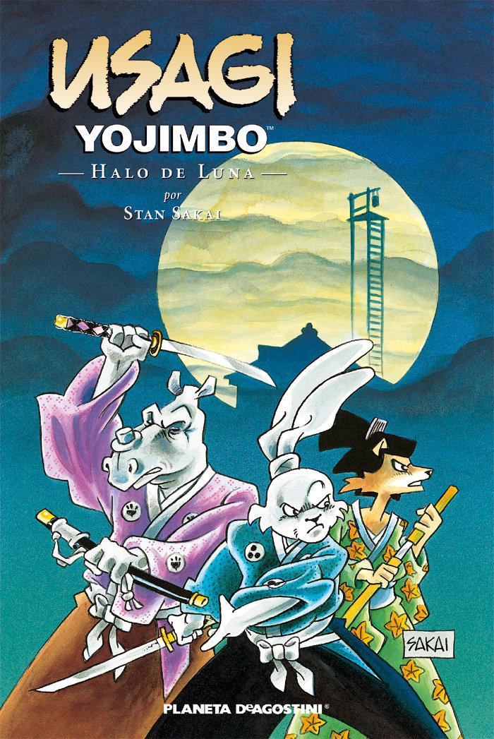 Usagi yojimbo 16 halo de luna