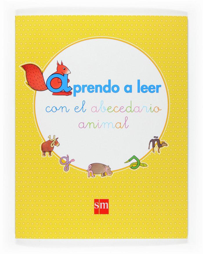 Aprendo leer abecedario animal 07 1ºciclo ep