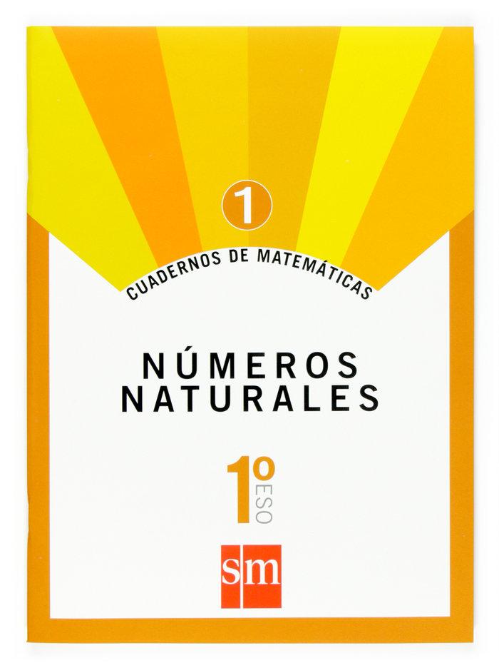 Cuaderno matematicas 1 1ºeso 07 numeros naturales
