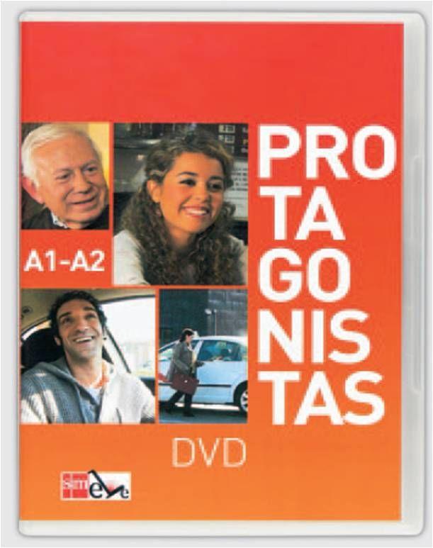 Protagonistas a1-a2 (dvd+guia de explotacion didactica)