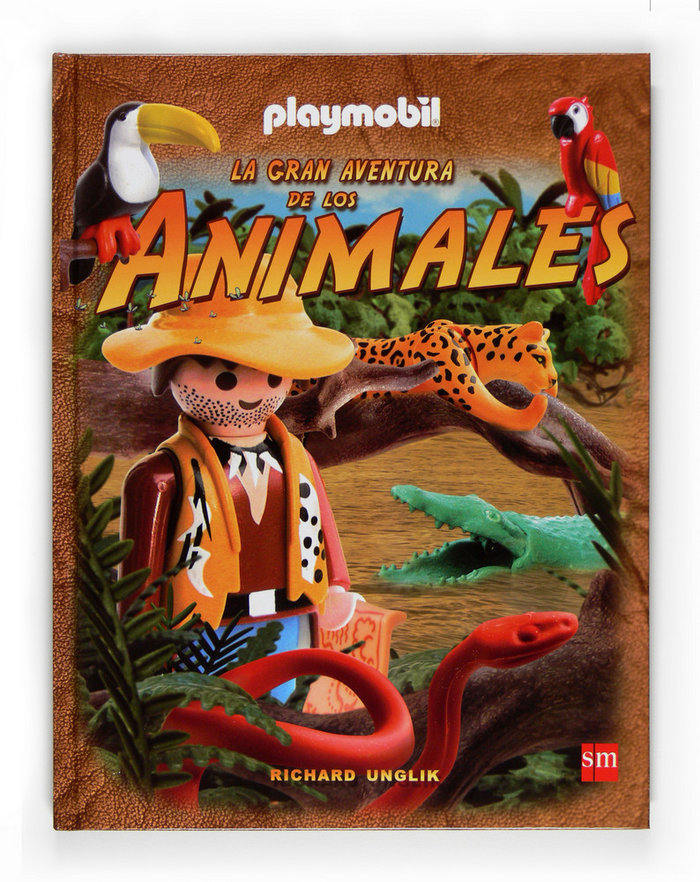Gran aventura de los animales con playmobil,la