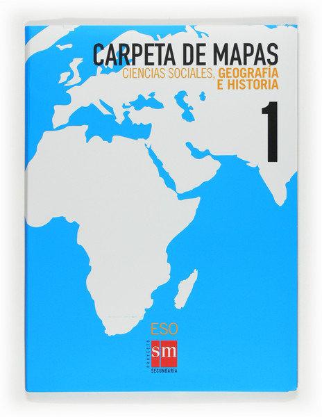 Coleccion mapas mudos 1ºeso 09