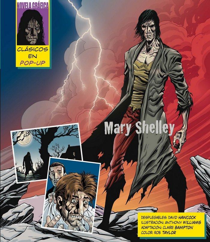 Frankenstein desplegable (clasicos pop-up)
