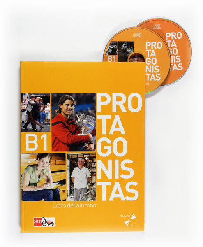 Protagonistas b1 (alumno+cd)