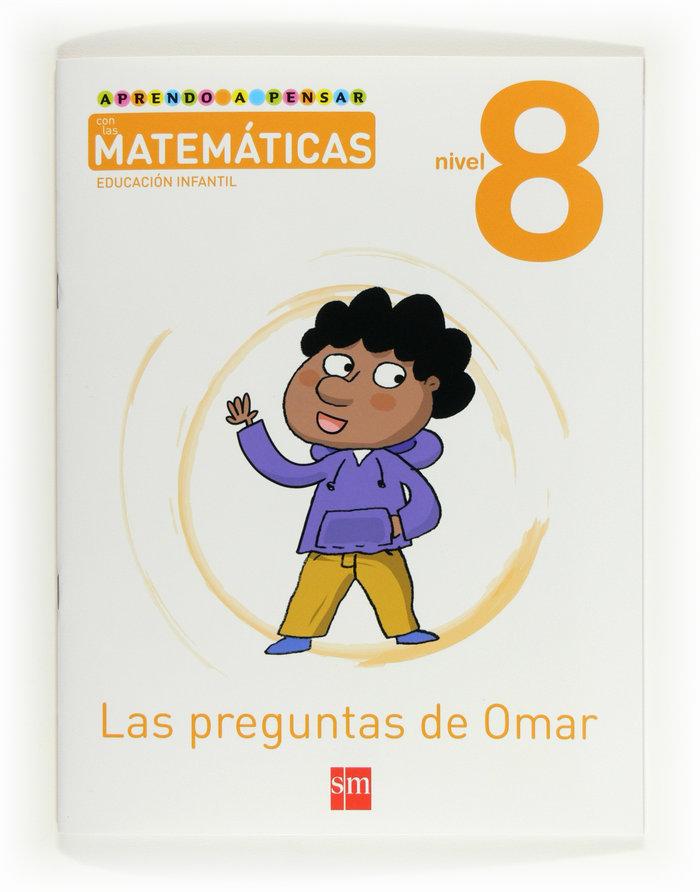 Aprendo a pensar con matematicas 8 5años 12