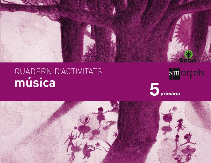 Quadern musica. 5 primaria. saba