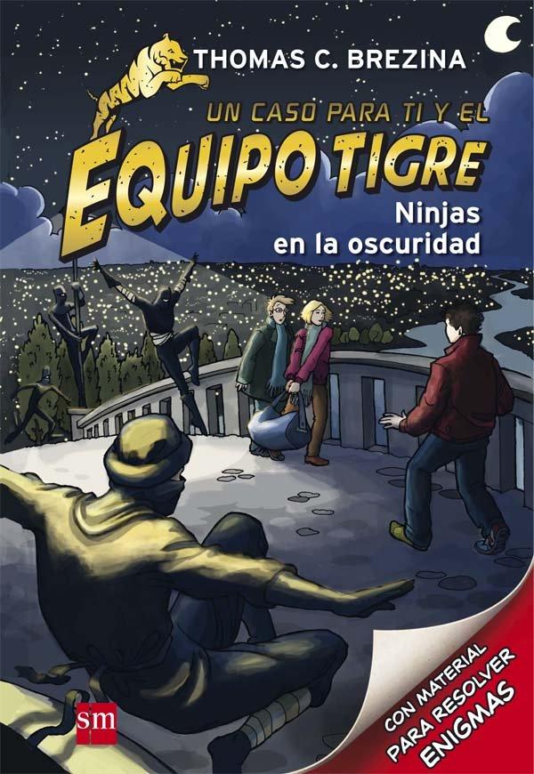Equipo tigre 06 ninjas en la oscuridad
