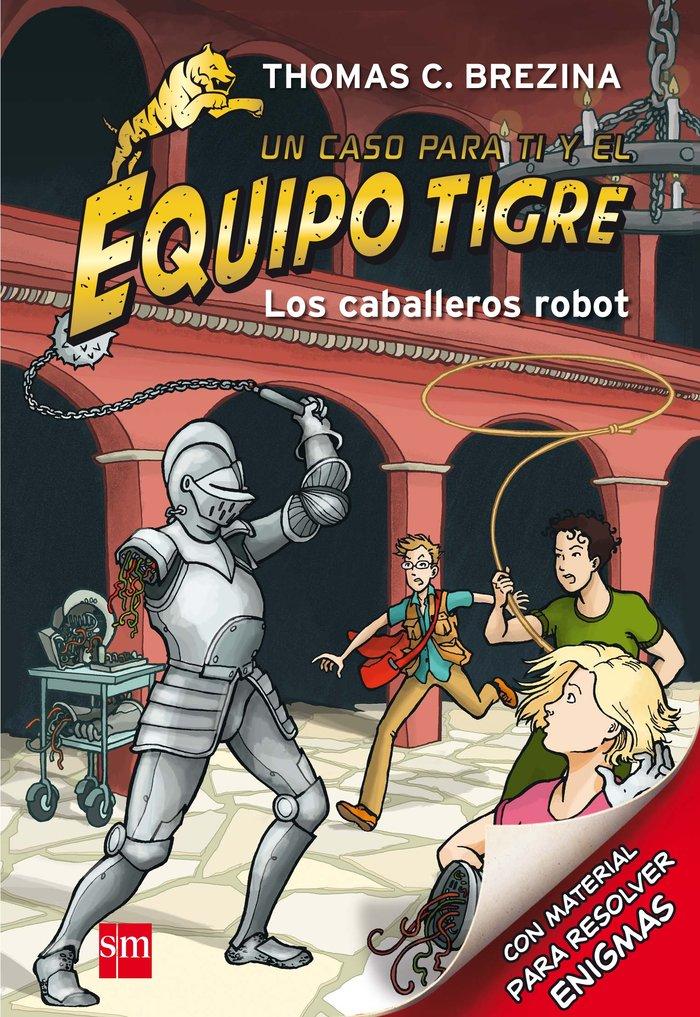 Equipo tigre 07 caballeros robot
