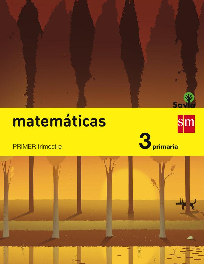 Matematicas 3ºep trimestres savia 14