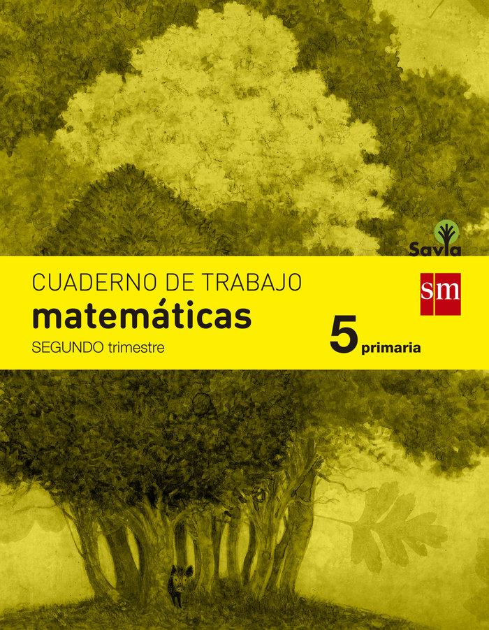 Cuaderno matematicas 2 5ºep savia 14