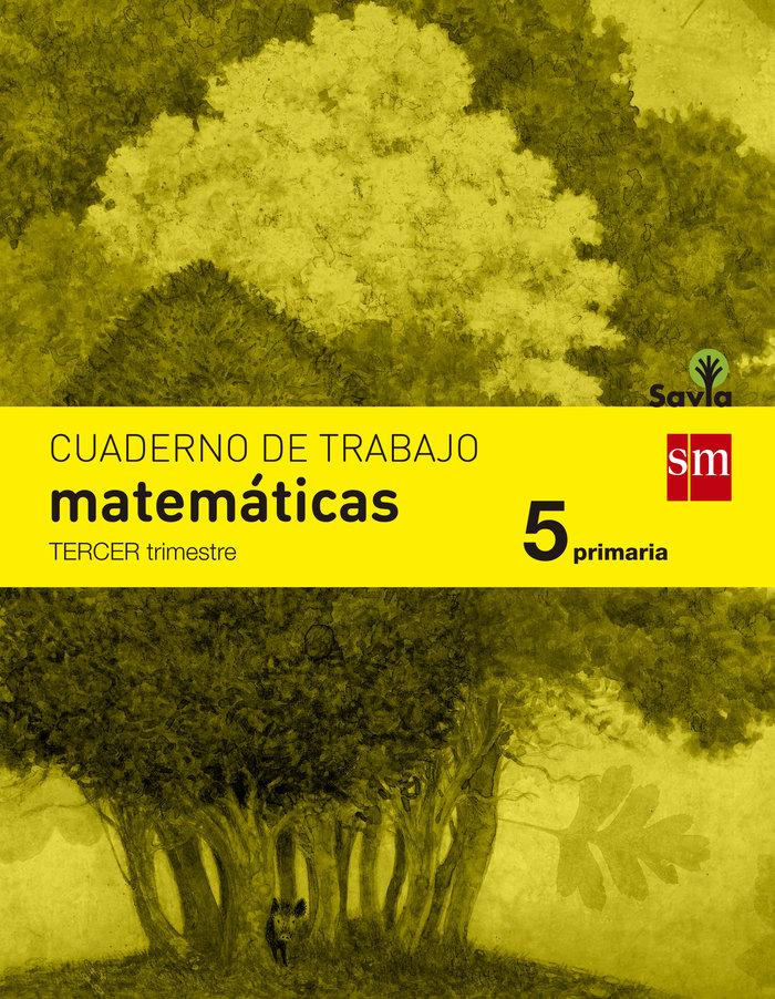 Cuaderno matematicas 3 5ºep savia 14
