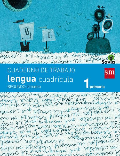 Cuaderno lengua 2 1ºep cuadricula 14 savia