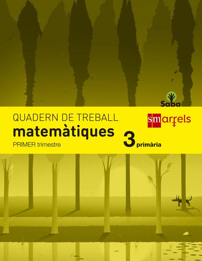 Quadern de matematiques. 3 primaria, 1 trimestre.
