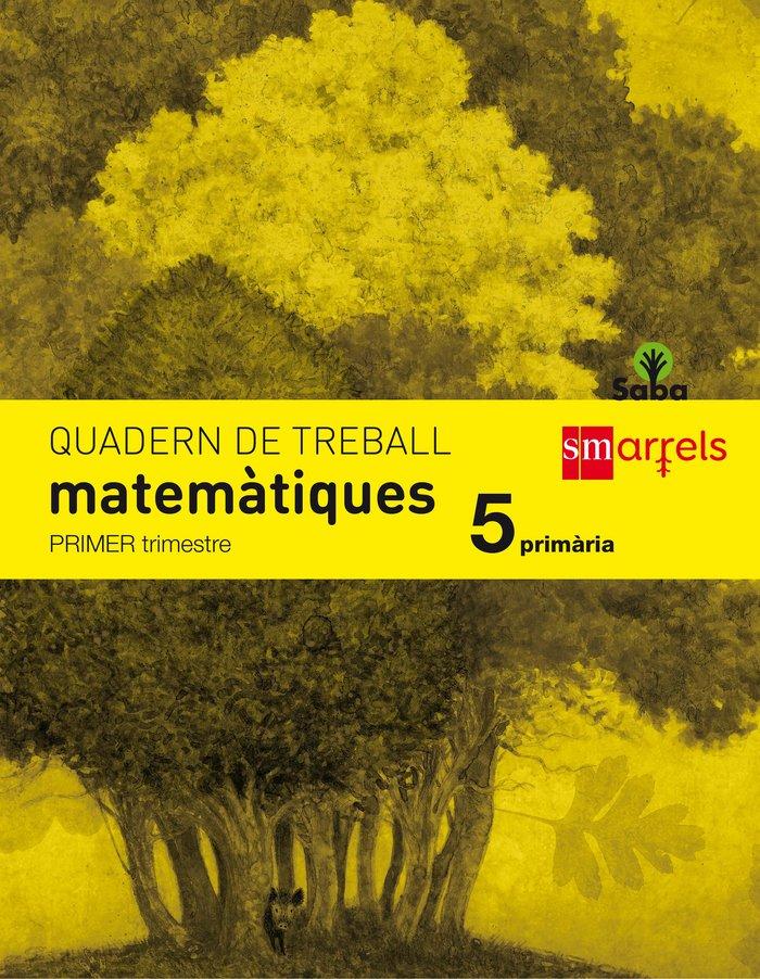 Quadern de matematiques. 5 primaria, 1 trimestre.