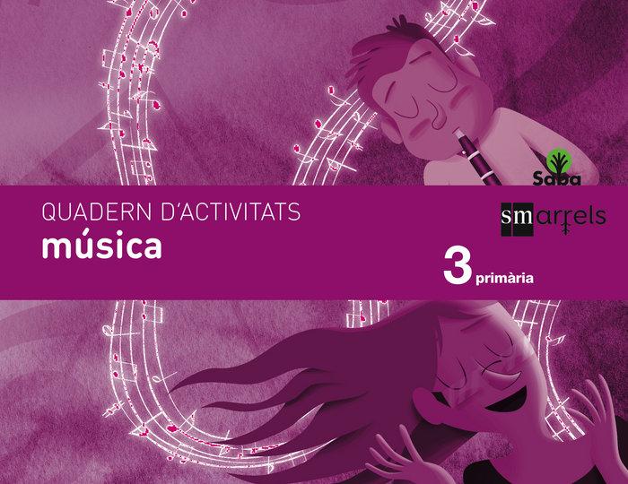 Quadern musica. 3 primaria. saba