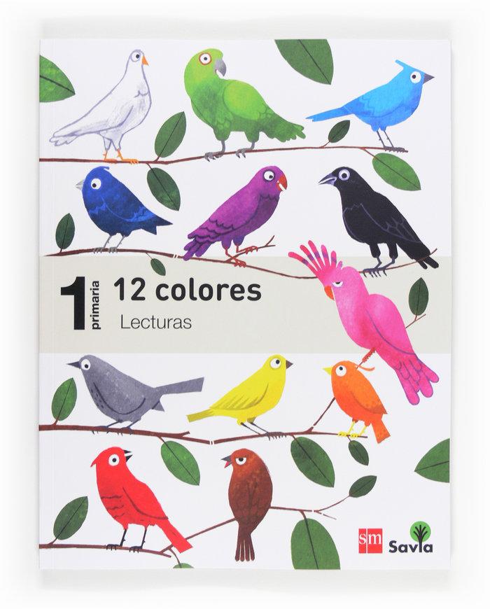 Lecturas para el aula 1ºep 12 colores 14 savia