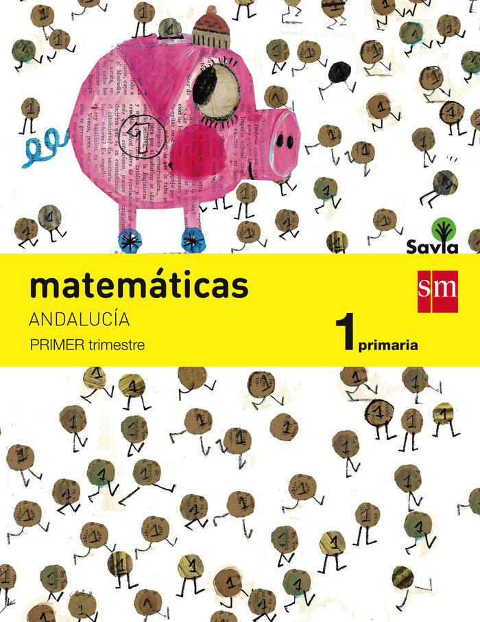Matematicas 1ºep trimestres andalucia 15 savia
