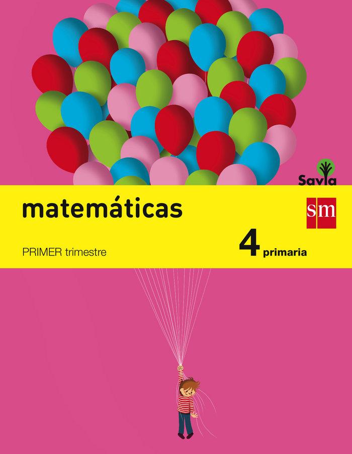 Matematicas 4ºep trimestres 15 savia