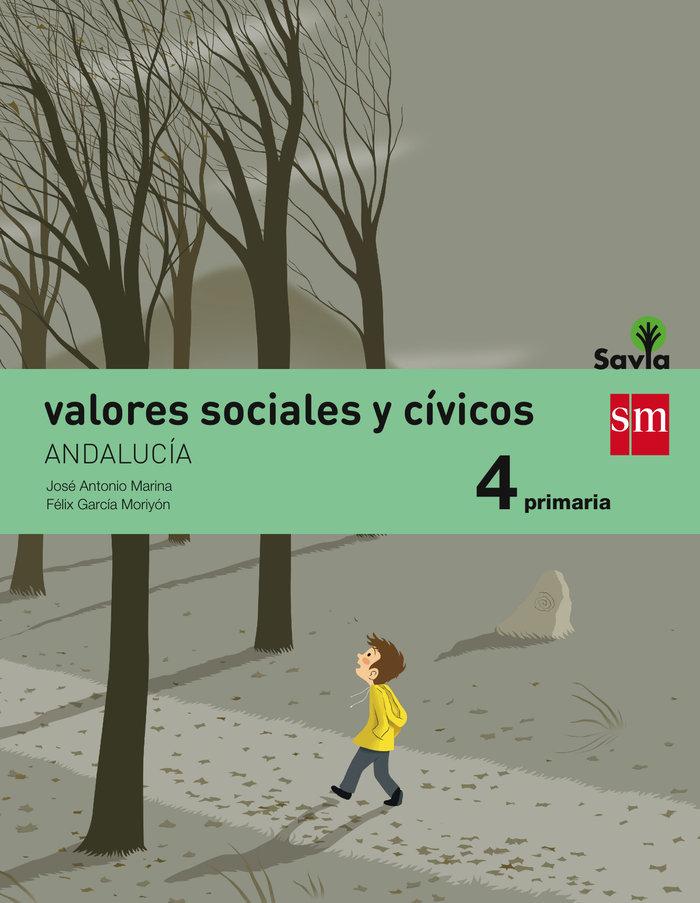 Valores sociales civicos 4ºep andalucia 15 savia