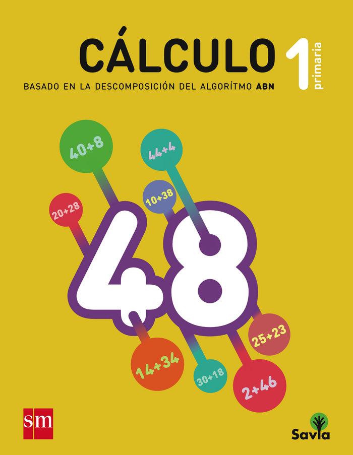 Cuaderno matematicas 1ºep calculo abn 15 savia