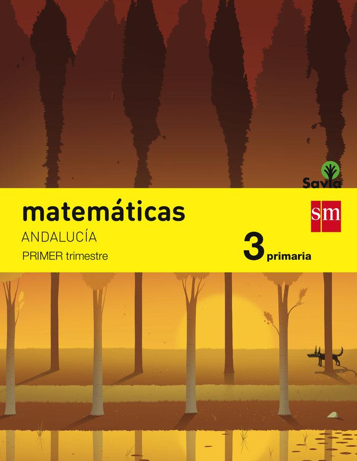 Matematicas 3ºep trimest.andalucia 15 savia